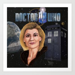 13th Doctor poster Art Print