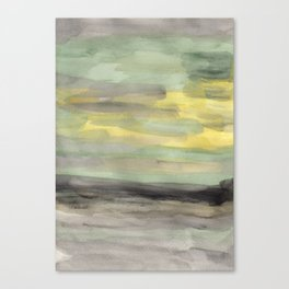 painted abstract Canvas Print