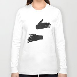 Hug Design Long Sleeve T-shirt