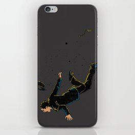 Falling Time iPhone Skin