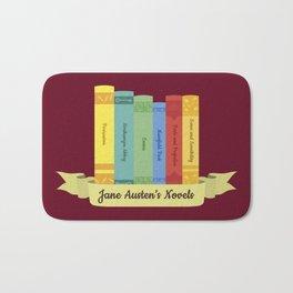 The Jane Austen's Novels III Bath Mat