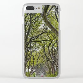 A Drive through the Dark Hedges Clear iPhone Case