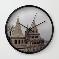 budapest Wall Clocks featuring Budapest by L'Ale shop