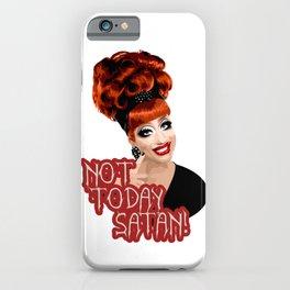 'Not Today Satan!' Bianca Del Rio, RuPaul's Drag Race Queen iPhone Case