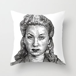 Double Indemnity Throw Pillow