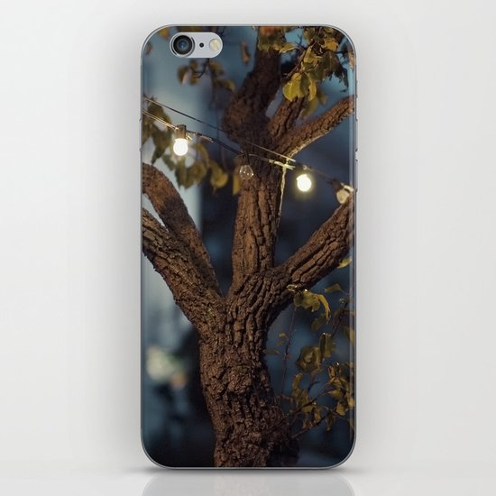 Isn't it a lovely night? iPhone & iPod Skin