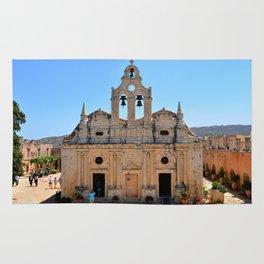 Arkadi Monastery landmark Rug