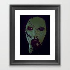 Freckled & Feral. Framed Art Print
