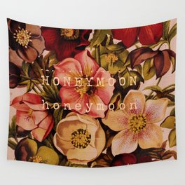 Honeymoon Floral Wall Tapestry