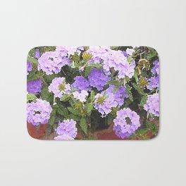 Vebena in Purple Bath Mat