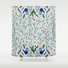 in a mood of pattern Shower Curtain