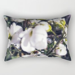 White puddles Rectangular Pillow