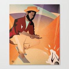 Yo Bunny Canvas Print