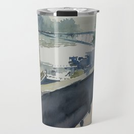 Pont du Carrousel Travel Mug