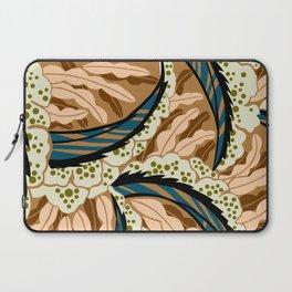BALINESIA: BIG SKY RANCH, Art Deco Tropical Laptop Sleeve