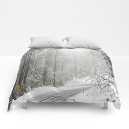Down the Summit Comforters