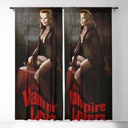 ingrid pitt Blackout Curtain