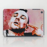 taxi driver iPad Cases featuring Taxi driver by BaconFactory
