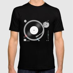 Ready to play! Mens Fitted Tee MEDIUM Black
