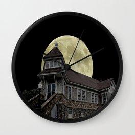 Super Moon Rising Wall Clock
