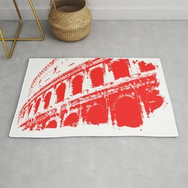 Way of the Warrior - Roman Colosseum Rug