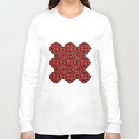 gothic Long Sleeve T-shirts featuring Gothic Red by Peter Gross