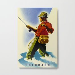 Colorado Fly Fishing Travel Metal Print