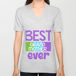 Family Tree Kinship Ancestry Household Love Bloodline Ancestors Best Grandmother Ever Grandma Gift Unisex V-Neck