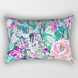 TROPICAL TREK FLORAL Rectangular Pillow