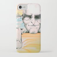 steve jobs iPhone & iPod Cases featuring Steve Jobs by Julie Roth Illustration
