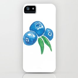 Why So Blueberry? iPhone Case