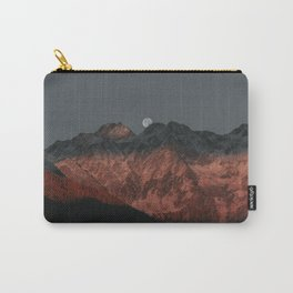 Sun down Mountains Carry-All Pouch