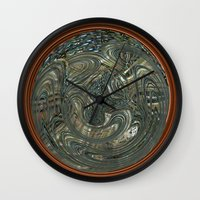 portal Wall Clocks featuring Portal by DesignsByMarly