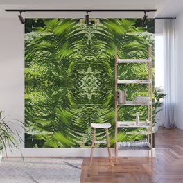 Fern Pattern Wall Mural