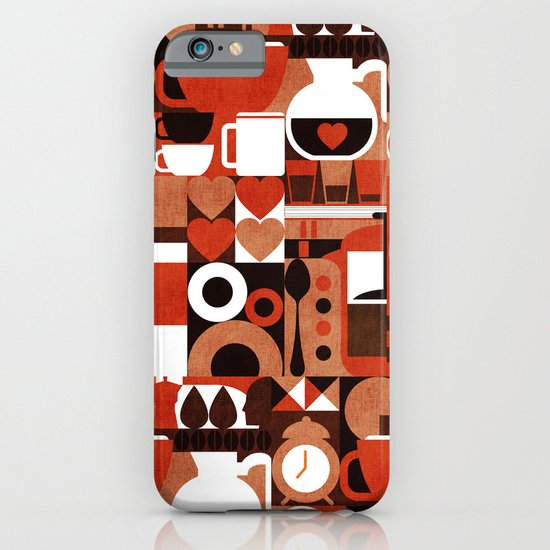 Coffee Story iPhone & iPod Case