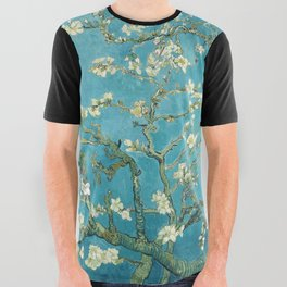Almond Blossoms by Vincent van Gogh All Over Graphic Tee