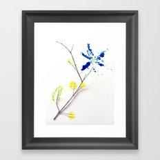Flower Me Framed Art Print