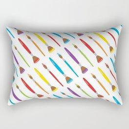 Artist Neck Gaiter Paint Brushes Art Neck Gator Rectangular Pillow