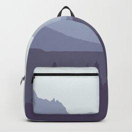 Glacier National Park - Modern Layers Backpack