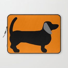 Halloweiner Dog Laptop Sleeve