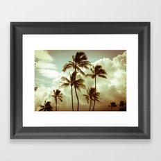 kailua - hawaii Framed Art Print
