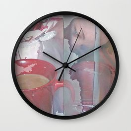 Glimpses Of The Valentine Wall Clock