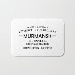 Murmansk Bath Mat