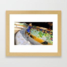 Gaudi Series - Parc Güell No. 1 Framed Art Print