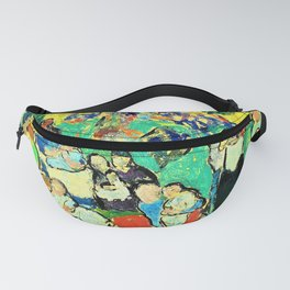 12,000pixel-500dpi - Pablo Picasso - Children in the Luxembourg Gardens - Digital Remastered Edition Fanny Pack