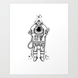 Cosmic Stranger 2 Art Print