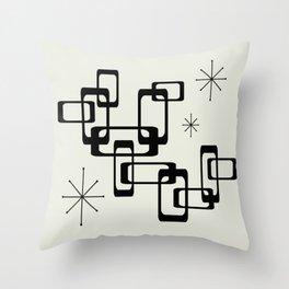Atomic Era Minimalism Throw Pillow