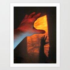 Forever Living Hands Art Print