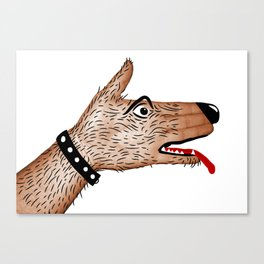 You Ain't Nothin' But A Hand Dog Canvas Print