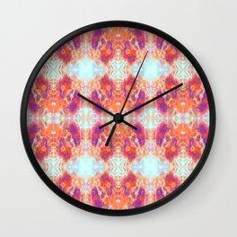 Kaleidoscopic Beetles Wall Clock